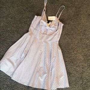 NWT blue and white skater dress from Windsor